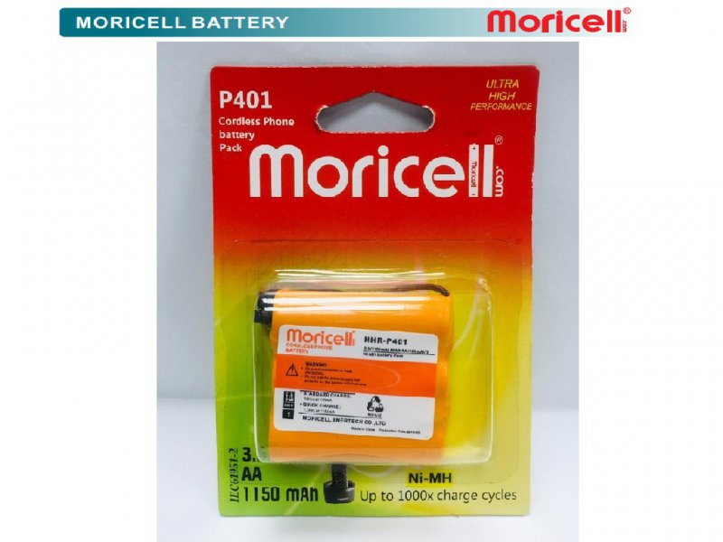 Panasonic Cordless Phone Battery  HHR_P401 MORICELL