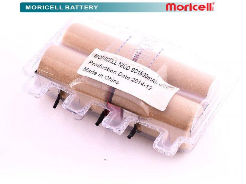 باتری جاروشارژی بلک انددکر 4.8 ولت 1500 میلی آمپر