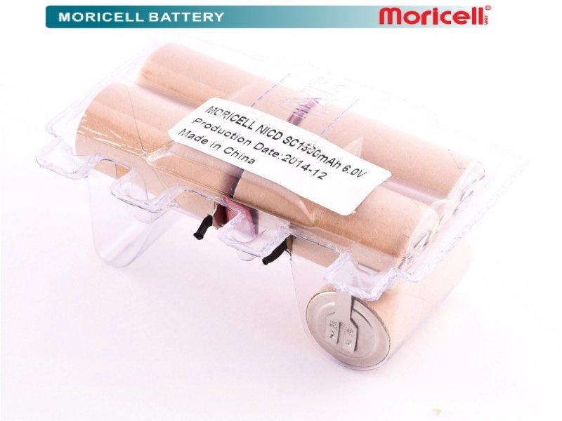 باتری جاروشارژی بلک انددکر 6.0 ولت 1500 میلی آمپر