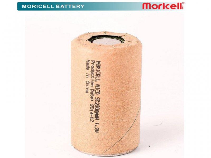 باطری موریسل جاروشارژی 1.2ولت 2000 میلی آمپر HP