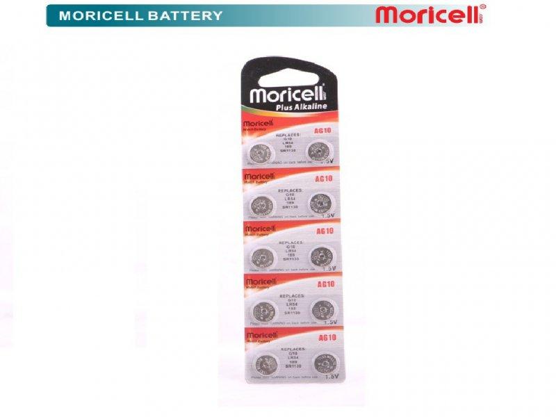 باطری سکه ای 1.5 ولت G10 موریسل