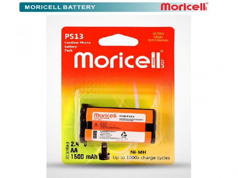باتری تلفن بی سیم پاناسونیک HHR_P513  موریسل