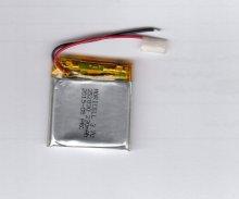 باطری لیتیوم پلیمر 3.7 ولت 230 میلی آمپر (352830)