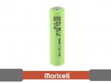 باتری نیم قلمی قابل شارژ 900 میلی آمپر ساعت سرتخت موریسل