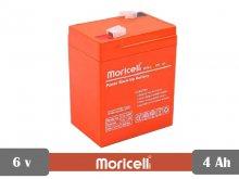 باتری سیلد اسید 6 ولت 4 آمپر moricell