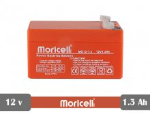 battery Sealed lead acid 12v 1.3Ah moricell