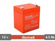 باطری سیلد اسید 12 ولت 4.5 آمپر moricell