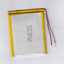 باطری لیتیوم پلیمر 3.7 ولت 2400 میلی آمپر (327099)